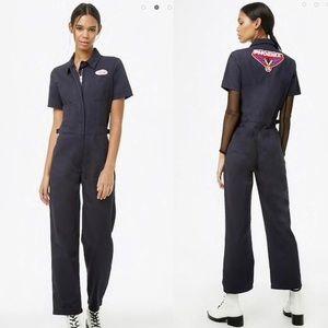 Forever 21 Utility Boilersuit Pantsuit Jumpsuit S